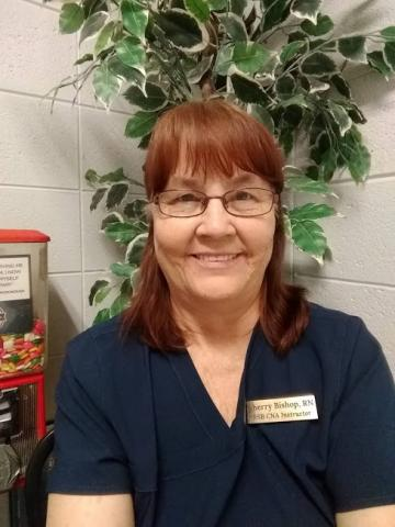 Sherry Bishop, RN. Primary Instructor/Owner